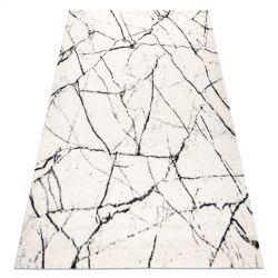 Килим GNAB 60639563 Мармур сучасний білі / білий