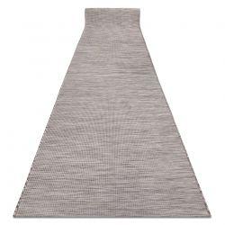 Плоский тканий бігун SISAL PATIO, рівномірний дизайн 2778 бежевий