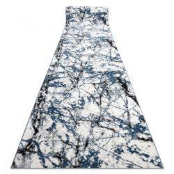 бігун COZY 8871 Marble, Мармур - Structural два рівні флісу синій