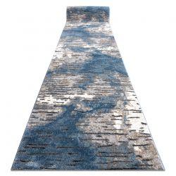 бігун COZY 8876 Rio - Structural два рівні флісу синій