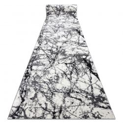 бігун COZY 8871 Marble, Мармур - Structural два рівні флісу сірий