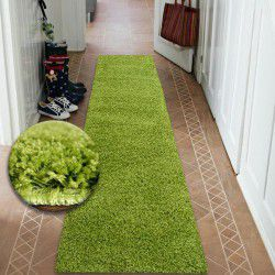 Килим Лущув SHAGGY 5 см зелений