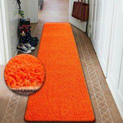 Килим Лущув SHAGGY 5 см помаранчевий