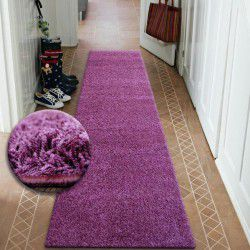 Килим Лущув SHAGGY 5 см фіолетовий