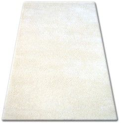 Килим SHAGGY NARIN P901 кремовий / білий
