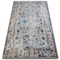 Килим AKRYL TALAS 0309 білий/скляний блакитний