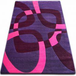 Килим FOCUS - F242 фіолетовий квадрати
