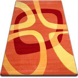 Килим FOCUS - F242 помаранчевий квадрати