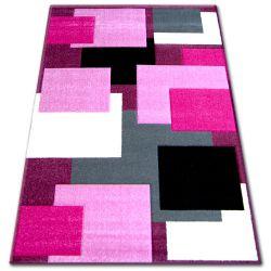 Килим PILLY H202-8404 - фіолетовий/рожевий