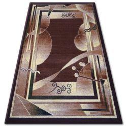 Килим heat-set PRIMO 5741 коричневий